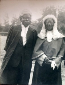 Chief Bola Ige and his wife Justice Atinuke Ige