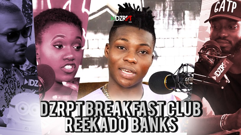 Reekado Banks on DZRPT TV's The Breakfast Club