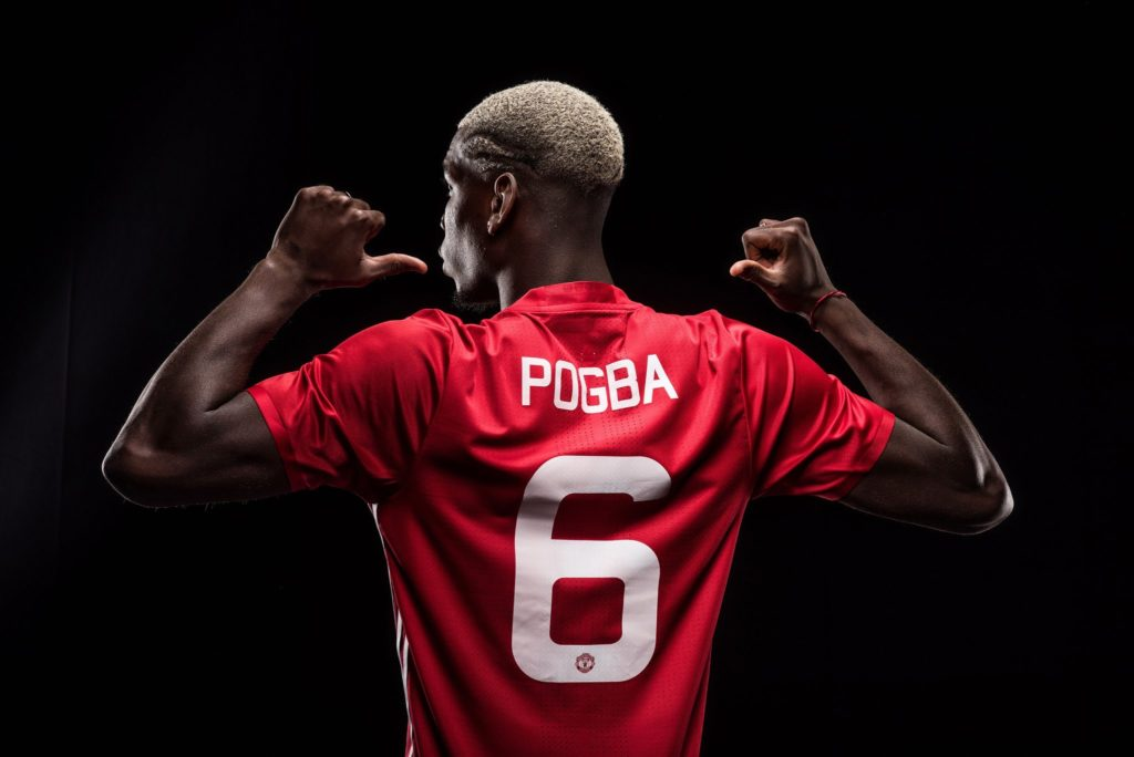Paul Pogba returns otherwise tagged as Pogback
