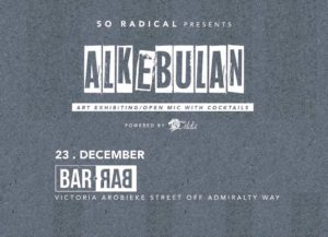 Alkebulan: December 23rd @ Bar Bar