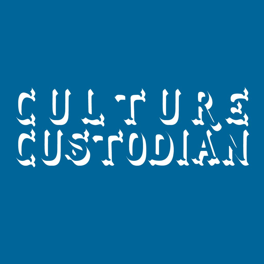 Culture Custodian Blue Logo