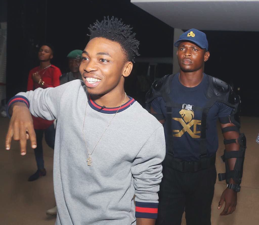 Mayorkun Jumps on the Pon Pon Wave with Mama