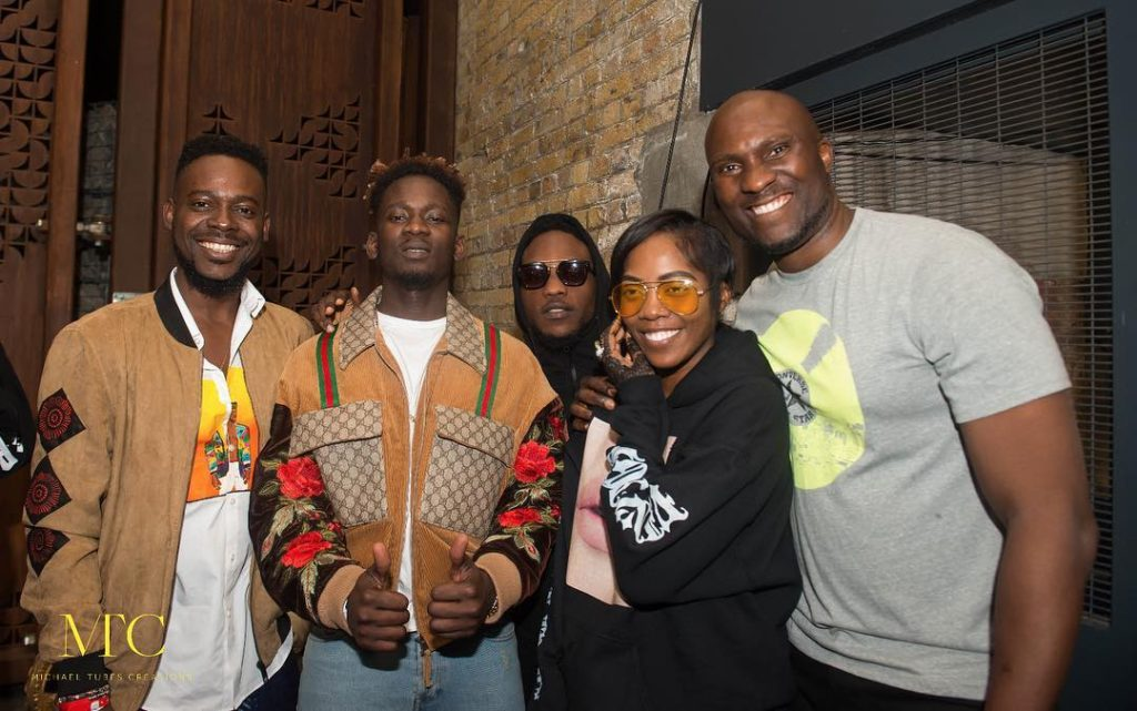 Here Are All the Photos From Mr Eazi's Listening Party in London