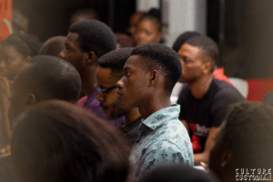 A cross-section of the audience at TedXBellsTech