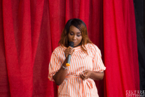 Aramide speaking at TedXBellsTech