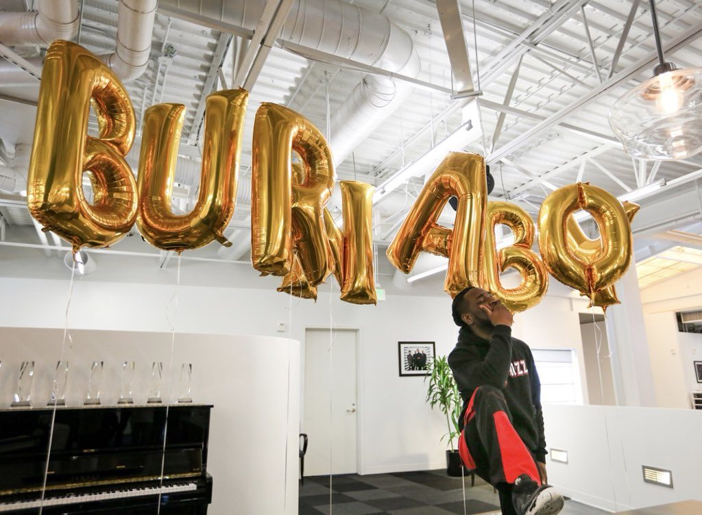Burna Boy Inks New Deal with Universal Music Publishing Group
