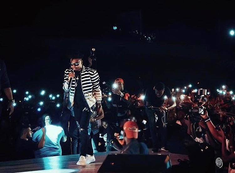 Mayorkun Pulls 13,000 In Ibadan With Help From These 11 Acts