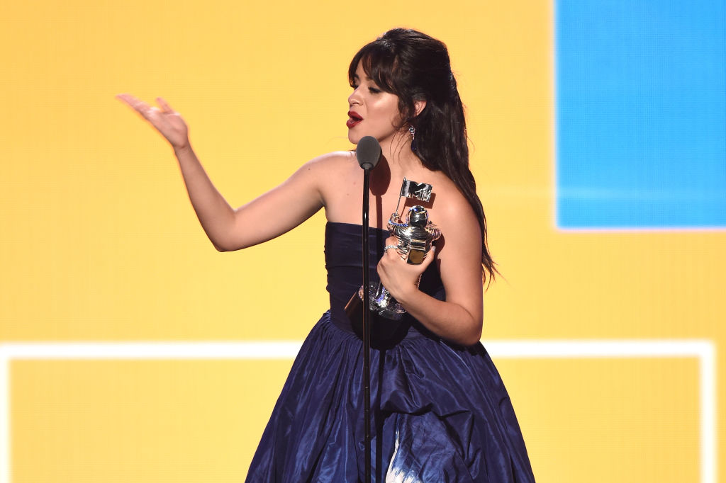 Camila Cabelo at the 2018 MTV VMAs