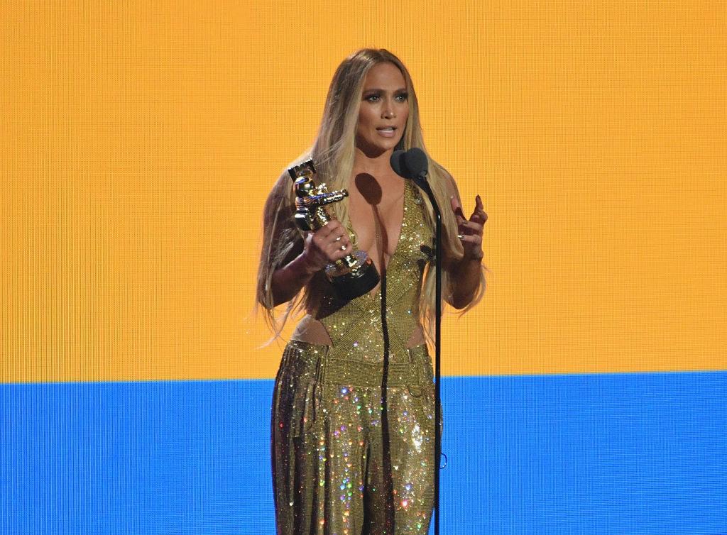 JLO at the 2018 MTV VMAs