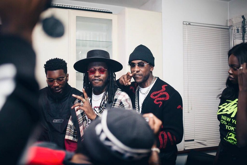 Boj, Skepta and Teezee Share Like 2 Party