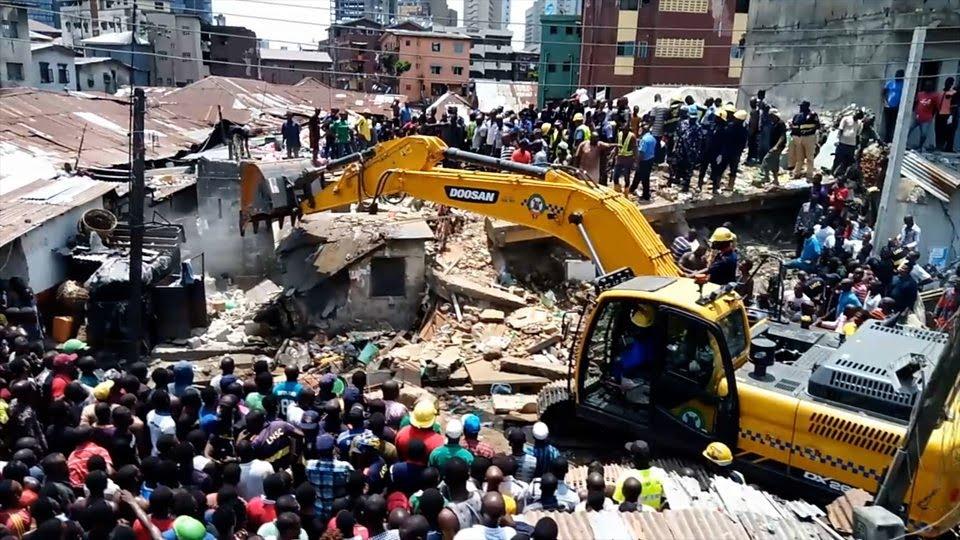 Ita faaji building collapse